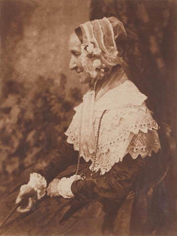 David Octavius Hill & Robert Adamson (1802-1870; 1821-1848) Mrs. Anne Rigby;