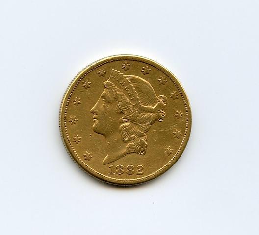 1882-S $20