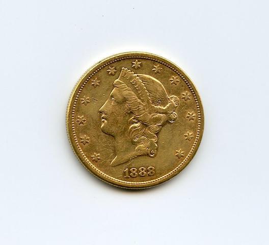1888-S $20