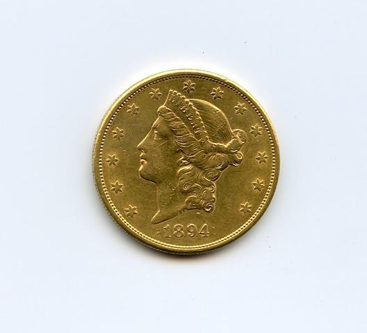 1894-S $20