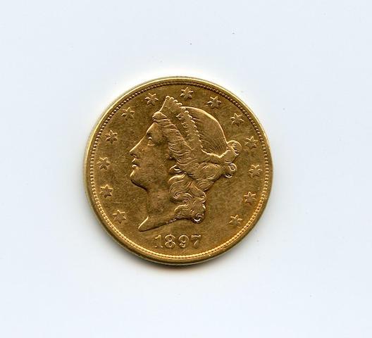 1897-S $20