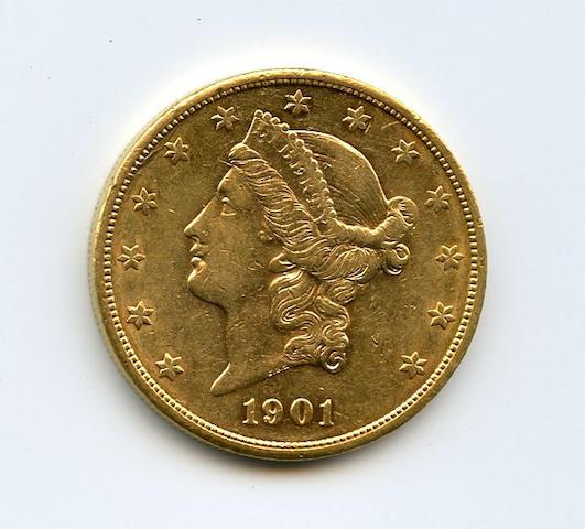 1901-S $20