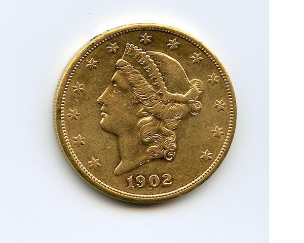 1902-S $20