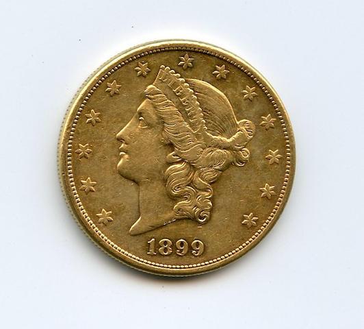 1899-S $20