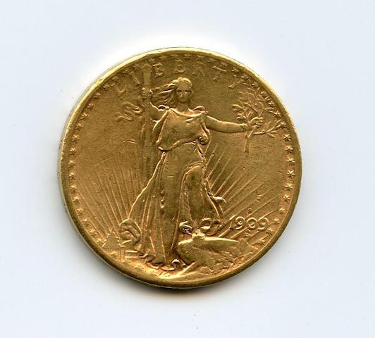 1909-S $20