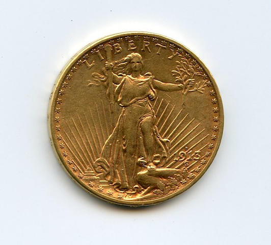 1913-D $20