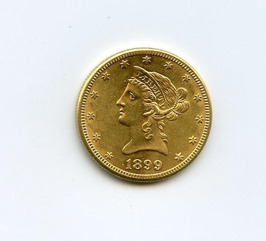 1899-S $10