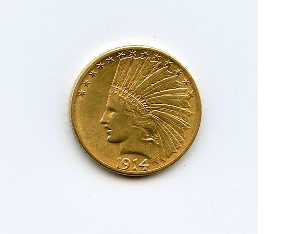 1914-S $10