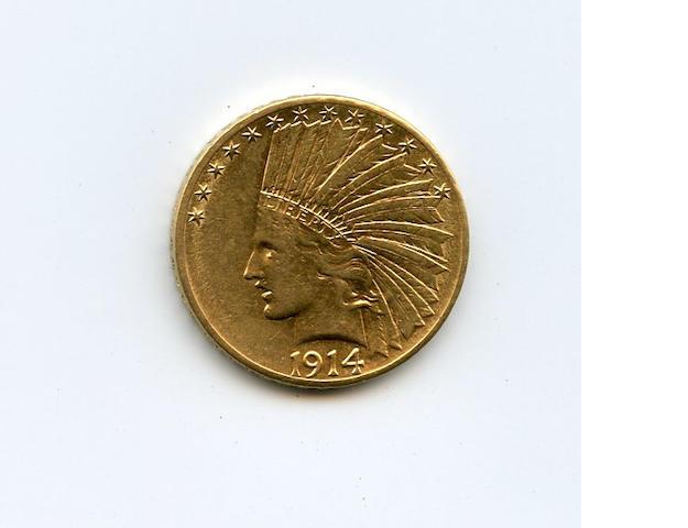 1914-D $10