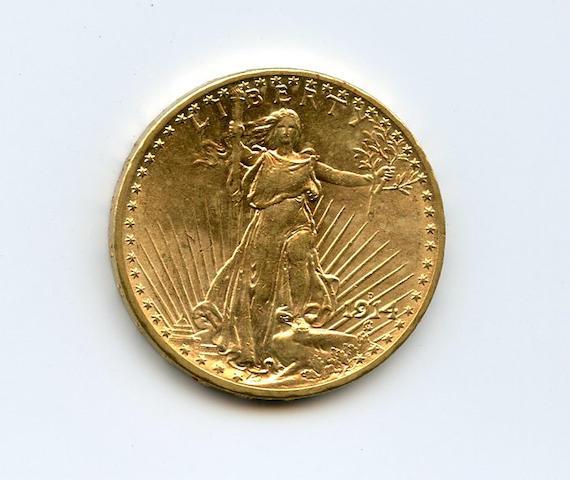 1914-D $20