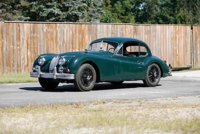 1956 Jaguar XK140 SE Fixed-Head Coupé  Chassis no. A815713 Engine no. G 8255-8