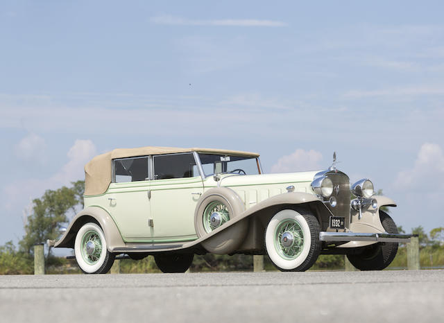 1932 Cadillac 452-B V16 Five Passenger All Weather Phaeton  Chassis no. 2458869 Engine no. 1400092