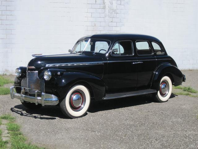 1940 Chevrolet Special Deluxe Sedan  Chassis no. 14KA0220629