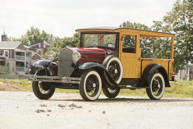 1931 Ford Model A 2-Door Depot Hack  Engine no. A4696227