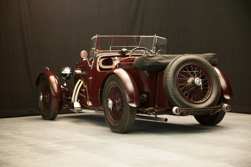 1934 Aston Martin 1½-Litre Sports 2/4 Seater  Chassis no. F4/455/S Engine no. F4/455/S