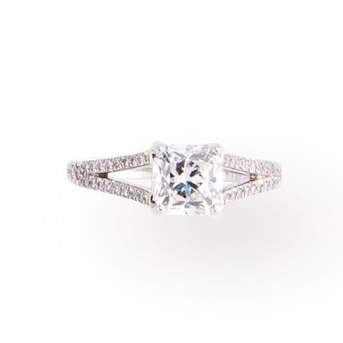 A diamond ring, Tiffany & Co.