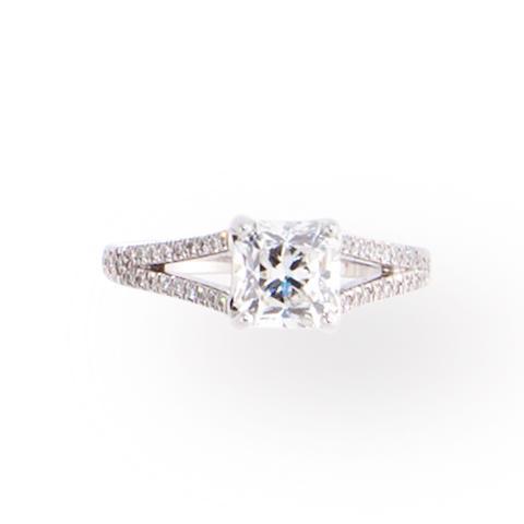 A diamond ring, Tiffany & Co.