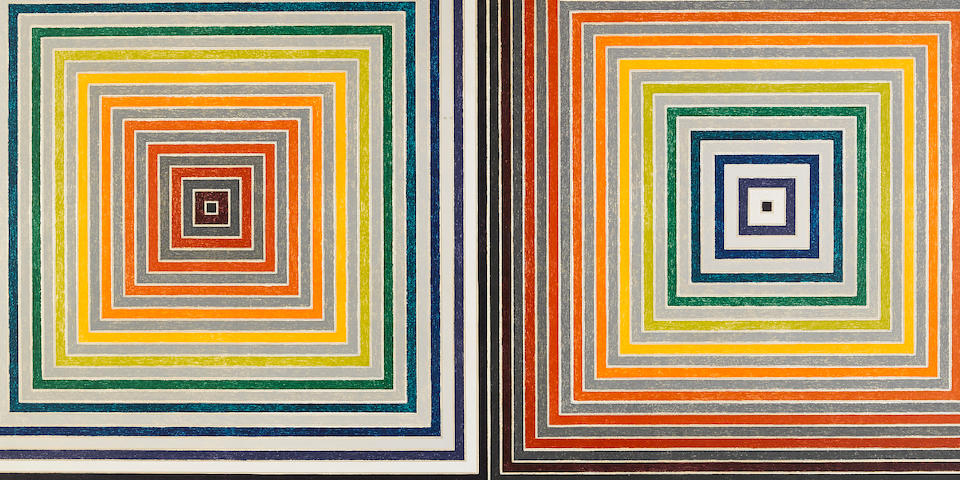 Frank Stella (born 1936); Double Gray Scramble;