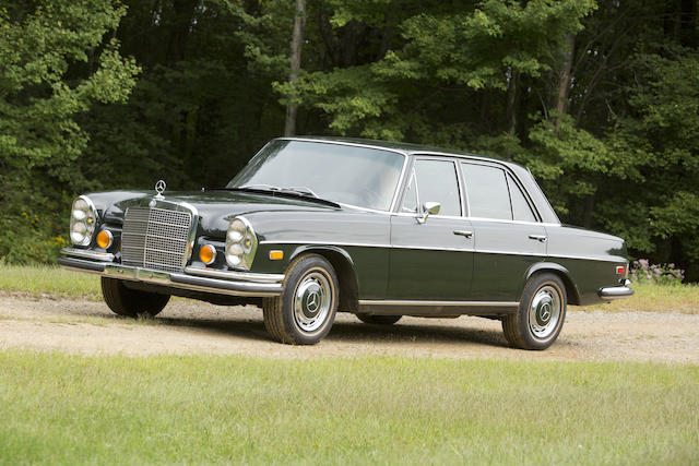 1972 Mercedes-Benz 280 SEL 4.5 Sedan  Chassis no. 108 067 12 004644