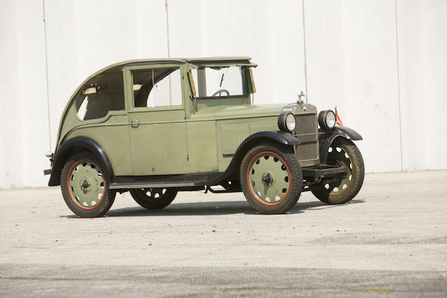 1931 Hanomag 3/16 Coupe  Chassis no. 20254 Engine no. 20285