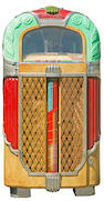 "A Rock-Ola ""Magic-Glo"" Jukebox, model 1428, 1948,"