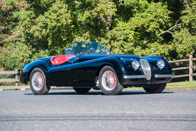 bonhams : 1954 jaguar xk120 se roadster chassis no. s675542 engine
