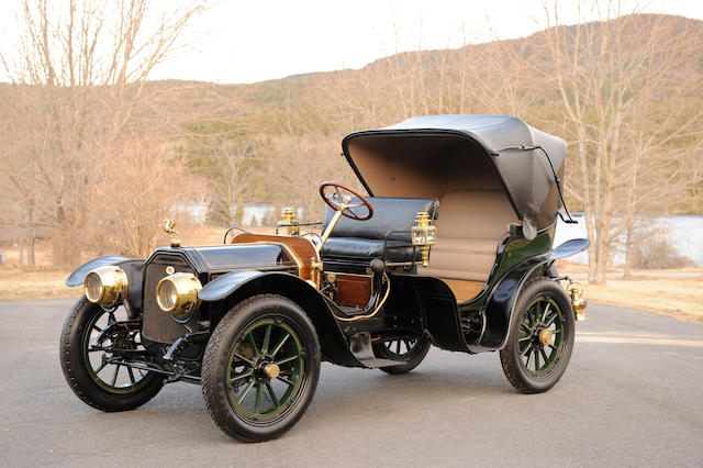 Ex-Doris Duke, James Melton and Dr. Samuel L. Scher,1910 Peerless Model 29 Park Phaeton/Victoria  Chassis no. 16124 Engine no. 5095