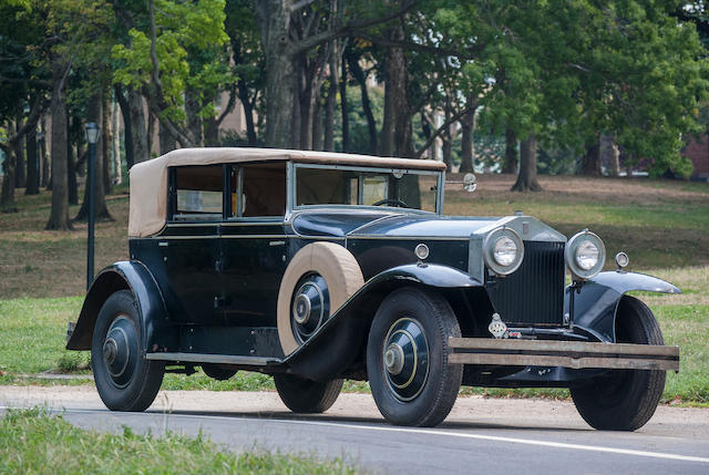 1930 Rolls-Royce Phantom 1 Newmarket Convertible Sedan  Chassis no. S484MR