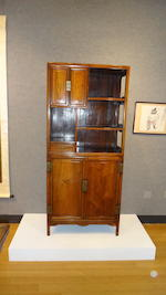 A pair of huanghuali and mixed harwood display cabinets 18th/19th century