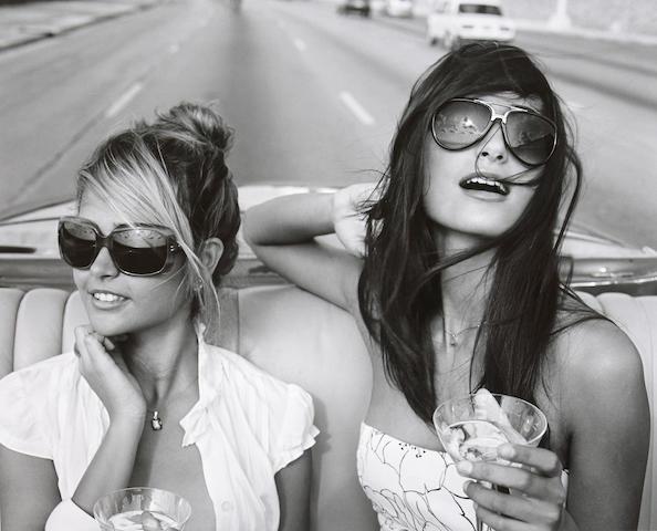 Michael Dweck (born 1957); Giselle and Rachel on the Malecon, Habana, Cuba;