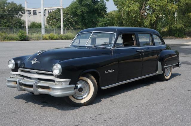 1952 Chrysler Crown Imperial Limousine  Chassis no. 7815265