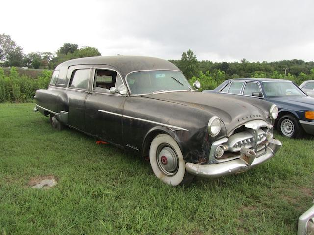 1951 Packard Henney 'Nu-3-Way' Hearse  Chassis no. 24132277 Engine no. U411733