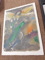 Marc Chagall (1887-1985); The Story of Exodus;