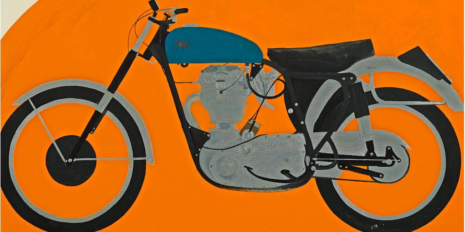 Billy Al Bengston (born 1934) Skinny's 21, 1961 42 x 40in. (106.7 x 101.6cm)