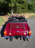 1974 MG Midget 1500 MkIII Roadster  Chassis no. GAN5UE150454G