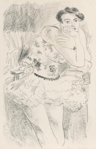 Henri Matisse (1869-1954); Danseuse debout, accoudée, from Dix Danseuses;