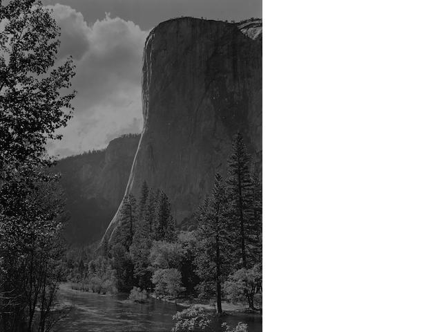 Ansel Adams (American, 1902-1984); El Capitan, Yosemite Valley;