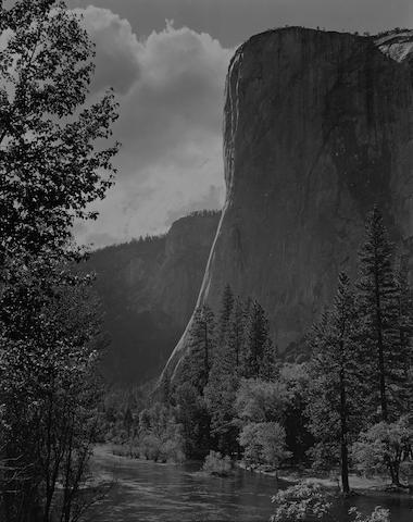 Ansel Adams (American, 1902-1984); El Capitan, Yosemite Valley;