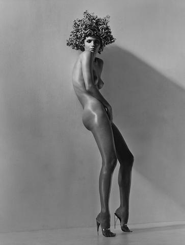 Herb Ritts (1952-2002); Helena, Hollywood;