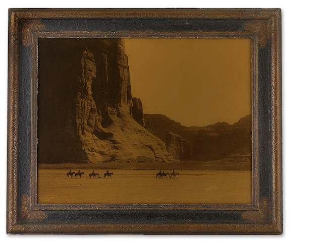 Edward S. Curtis (1868-1952); Cañon de Chelly, Arizona, Navaho;