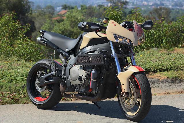 """2005 Honda CBR1000RR """"Tengu"""" Custom Frame no. JH2SC57195M100696 Engine no. 2111437"""