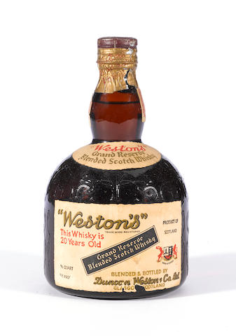 Weston's Grand Reserve 20 years old