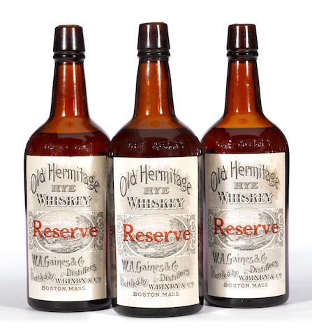 Old Hermitage Rye Whiskey Reserve