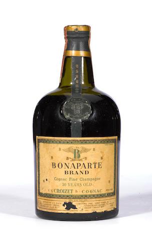 Bonaparte Brand Cognac Fine Champagne 20 years old
