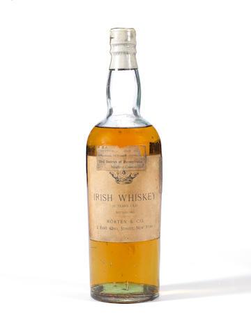 Irish Whiskey 25 Years Old