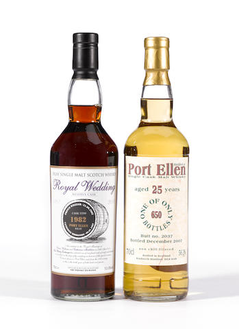 Port Ellen- Royal Wedding Reserve Cask 1982