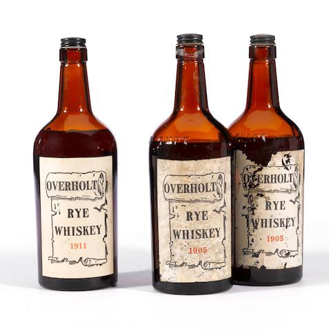 Overholt Rye Whiskey 1905