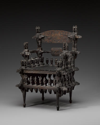 Ibo Model Chair, Nigeria