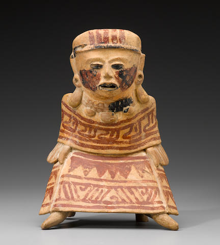 Veracruz Figure, Remojadas Culture, Early-Middle Classic, ca. A.D. 300 - 700