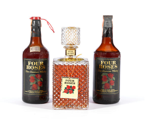 Four Roses Diamond Point Decanter